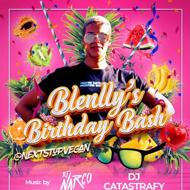Next Stop Vegan | Blenlly's Birthday Bash