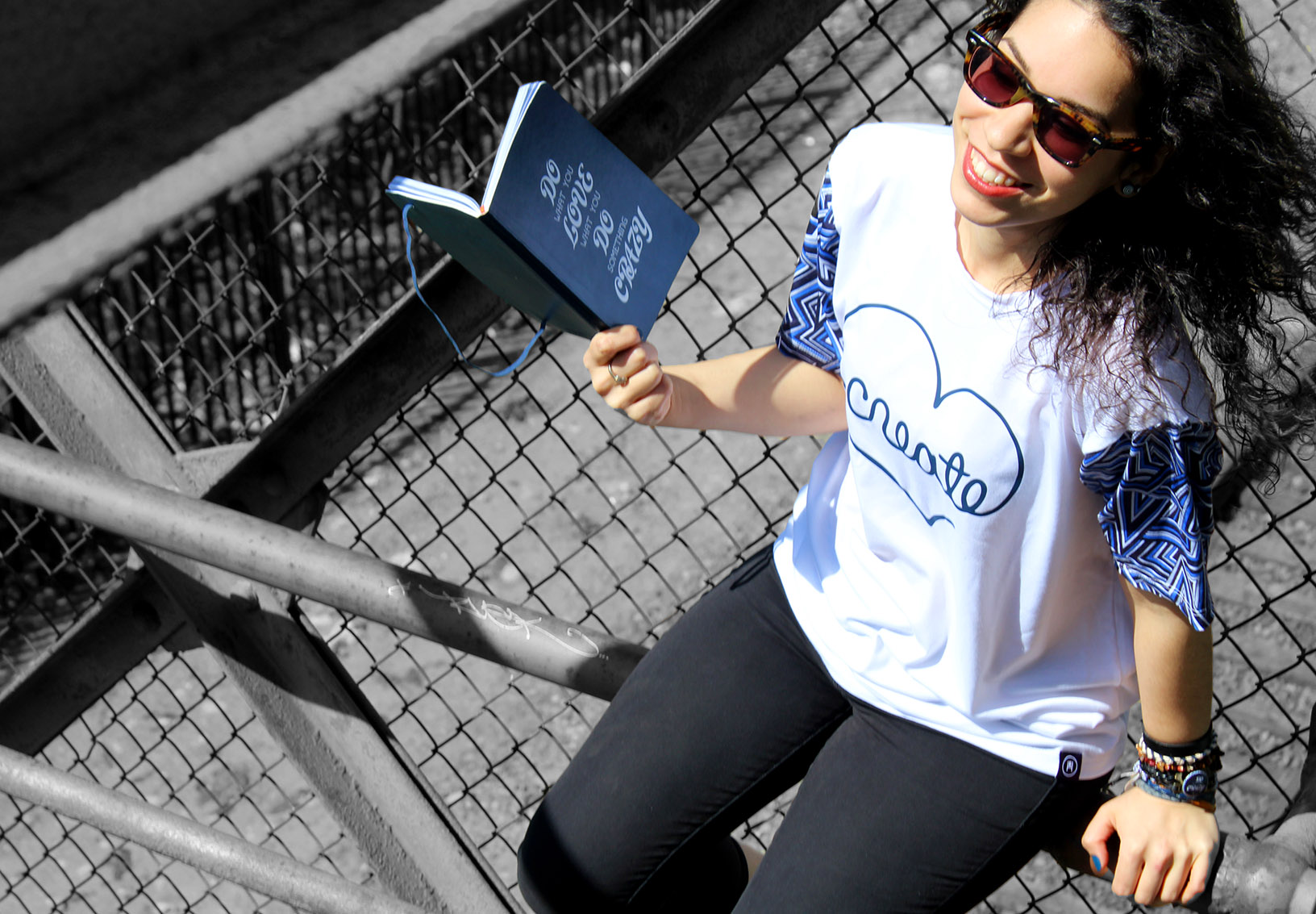 Custom Create T-Shirt and Notebook