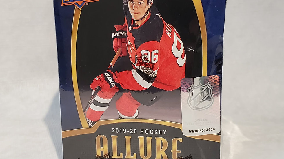 2019-20 Allure Hockey Blaster Box