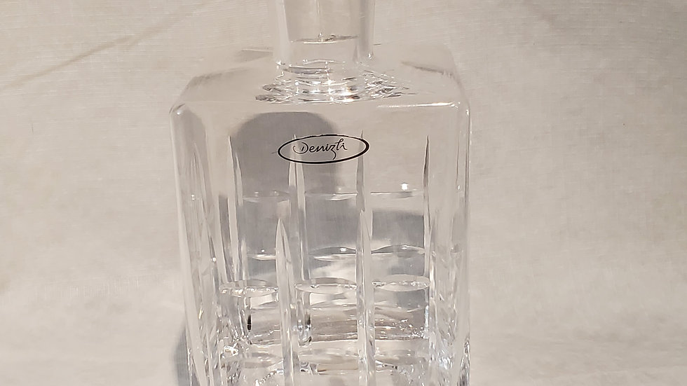 Old Fashioned 35oz Square Whiskey Decanter