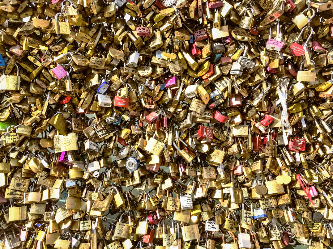 Pont-des-Arts / Paris 2015