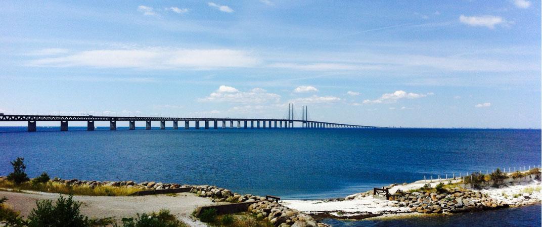 Öresundbrücke Dänemark 2014