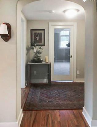 61 lower level hallway leading to  bedro