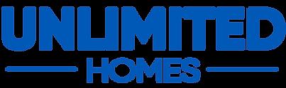 2019 Unlimited Homes Logo Blue No Back G