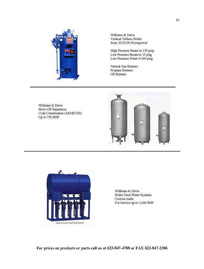 Williams & Davis Boilers-Blowdown Tanks