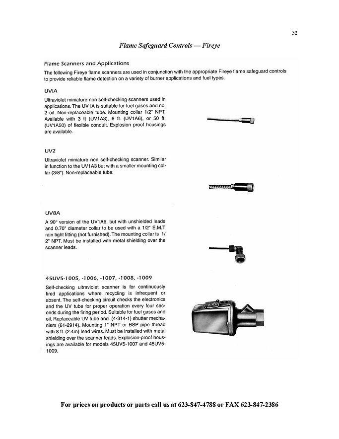 Flame Safeguard Controls - Fireye