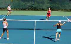 Ladies Doubles Strategy Clinic
