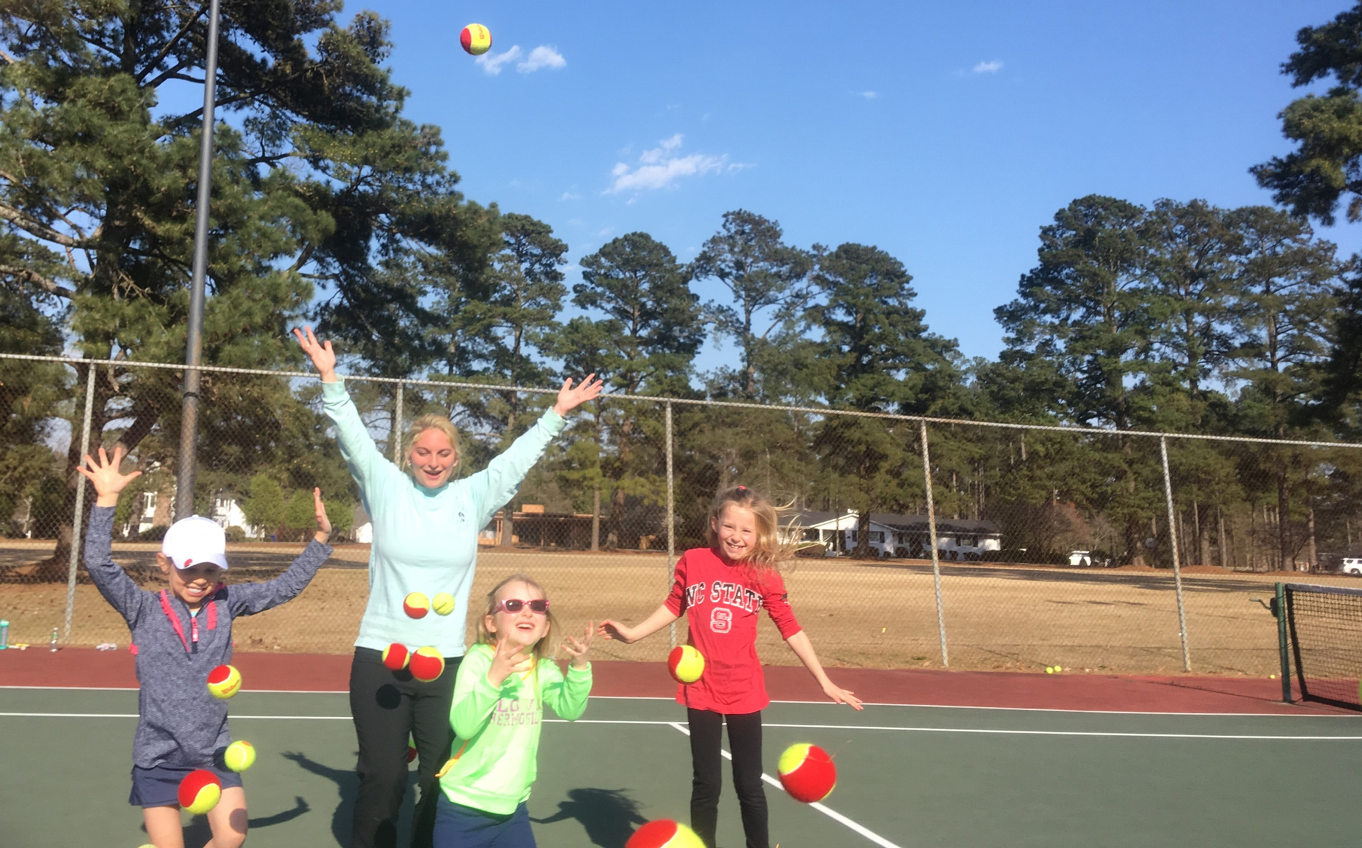 Tiny Tots Tennis Clinic (Ages 4-7)