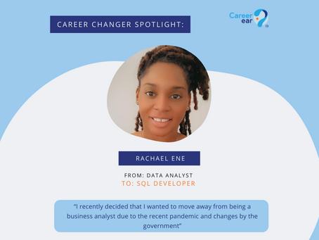 Career Changer Spotlight: Rachel Ene