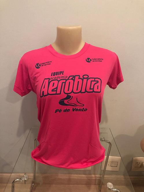 Camisa Rosa - Feminina