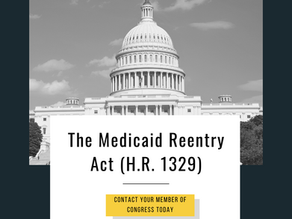Support the Medicaid Reentry Act