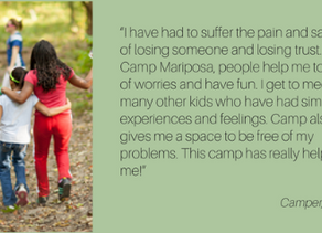 The Moyer Foundation's Camp Mariposa Program