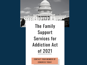 Support the Family Support Services for Addiction Act of 2021