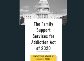 Support the Family Support Services for Addiction Act of 2020