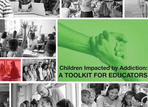 """Addiction Policy Forum Releases """"Children Impacted by Addiction: A Toolkit for Educators"""""""