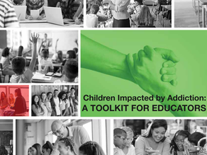 "Addiction Policy Forum Releases ""Children Impacted by Addiction: A Toolkit for Educators"""