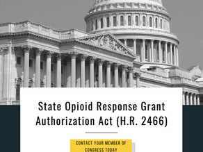 Support the State Opioid Response Grant Authorization Act