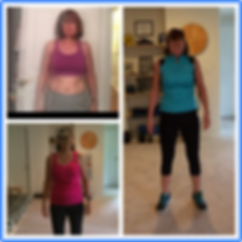 Client BW smiling after 12 week transformation
