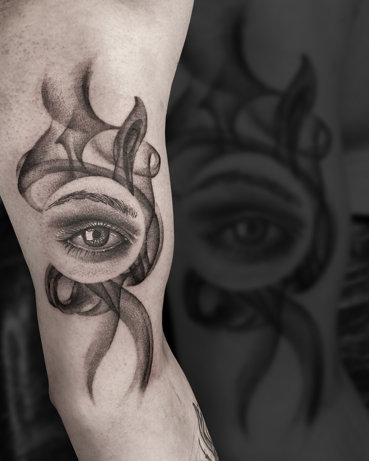 Tattoo Zincik - Smoke Eye