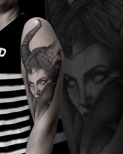 Tattoo Zincik - Maleficent tattoo