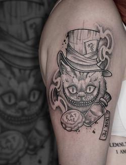 Tattoo Zincik - Cheshire Cat