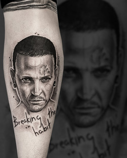 Tattoo Zincik - Linkin park