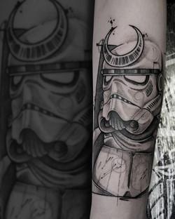 Tattoo Zincik - Storm strooper 001