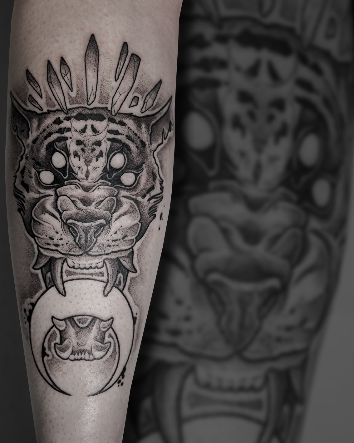 Tattoo Zincik - Tiger tattoo design