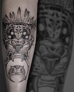 Tattoo Zincik - Tiger tattoo design