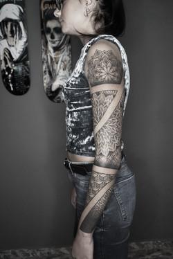 Tattoo Zincik - mandala tattoo