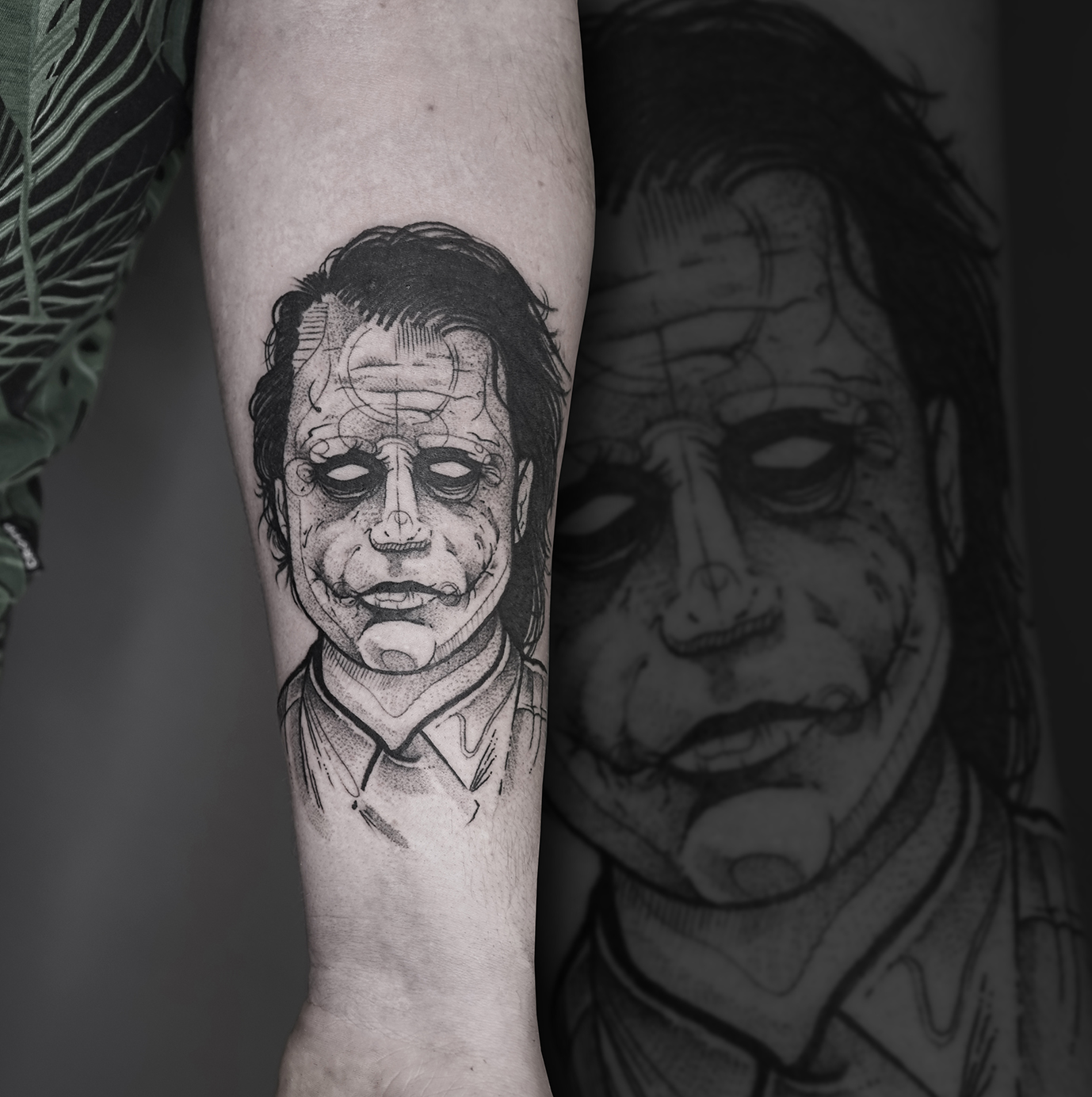 Tattoo Zincik - Joker Black tattoo