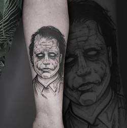 Tattoo Zincik - Joker Black tattoo