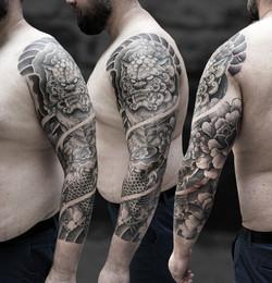 Tattoo Zincik - Japonese tattoo sleeve