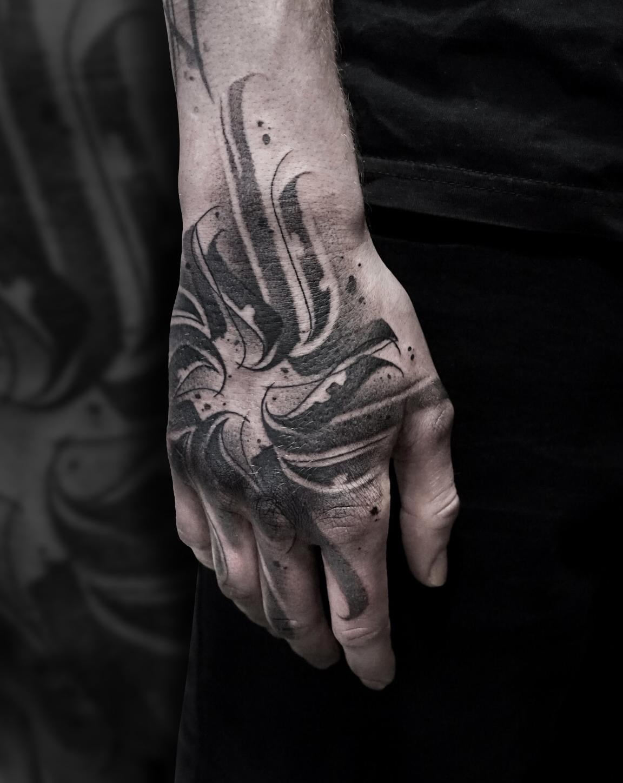 Tattoo Zincik - Calligraphy Tattoo Hand.