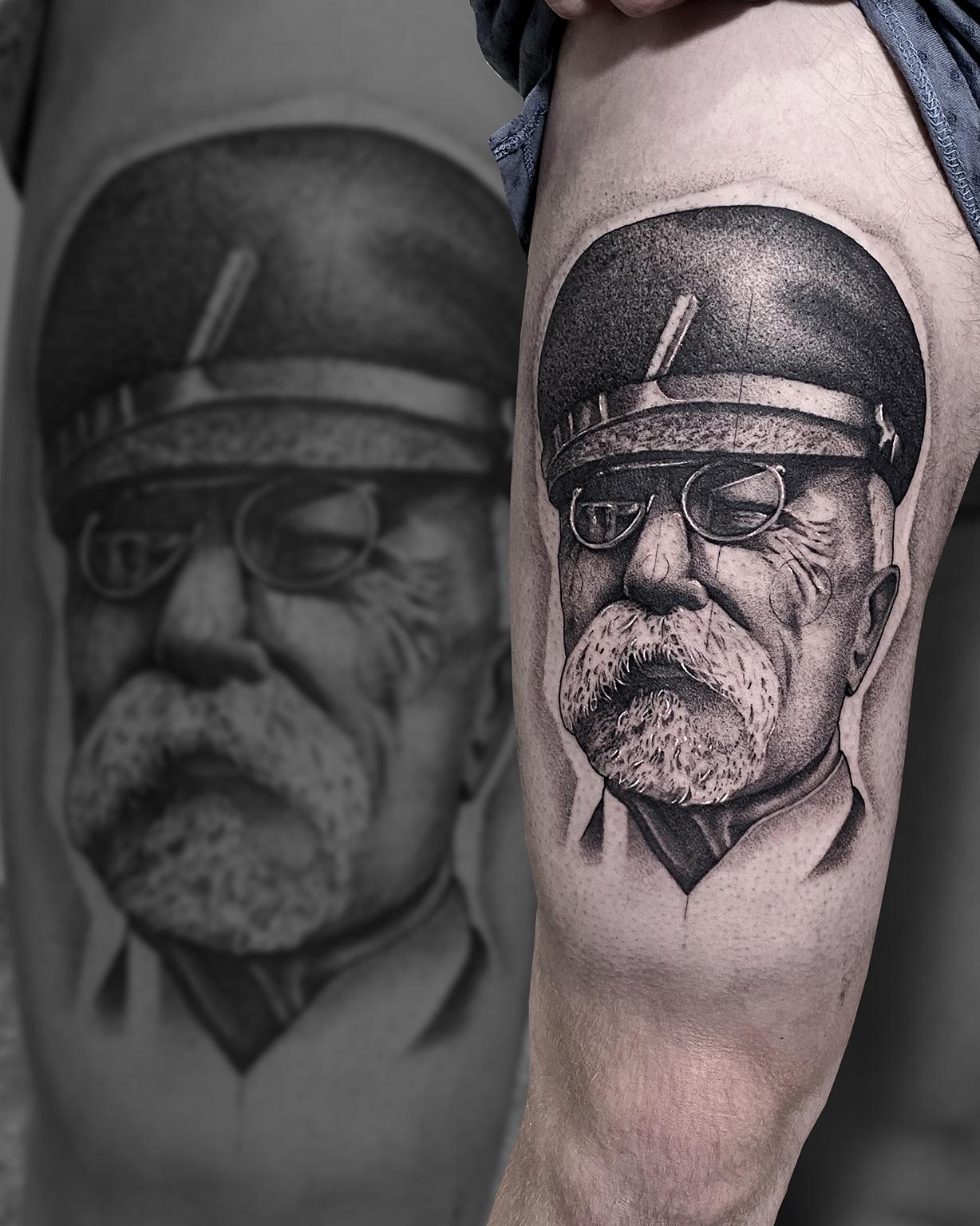 Tattoo Zincik - Tomáš Garrigue Masaryk