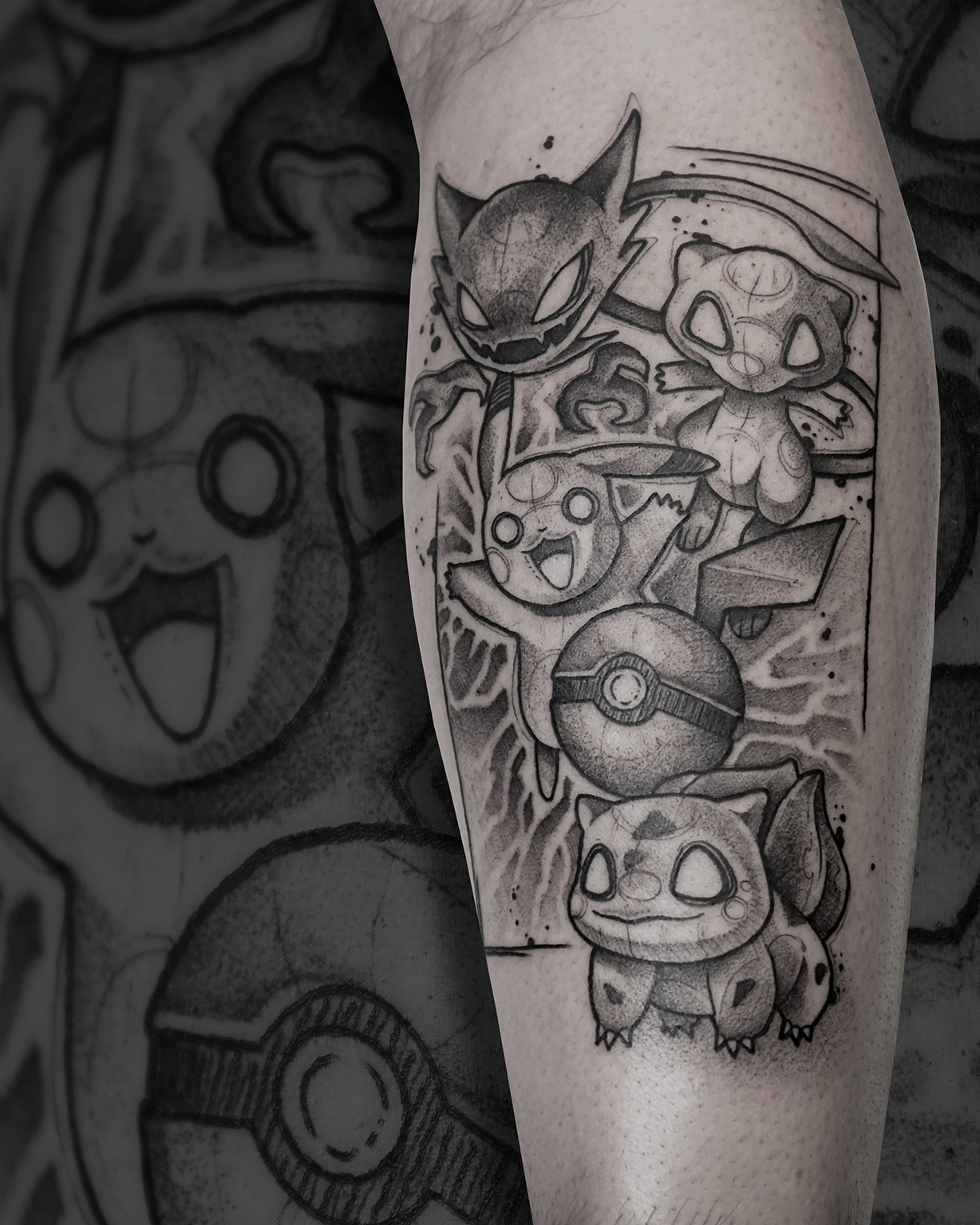 Tattoo Zincik - Pokemon black tattoo