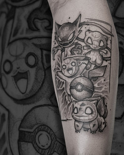 Tattoo Zincik - Pokemon black tattoo