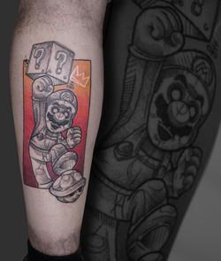 Tattoo Zincik - mario Sketch tattoo