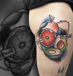 Tattoo Zincik - Vegan Tattoo design asbtract