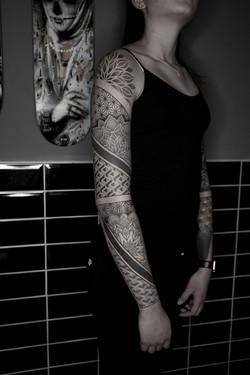 Tattoo Zincik - geometric mandala