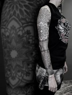 Tattoo Zincik - Mandala sleeve