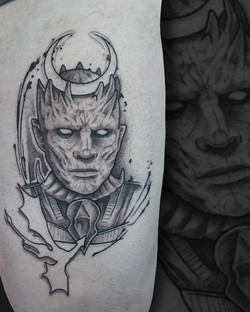 Tattoo Zincik - Night King Game of Thron