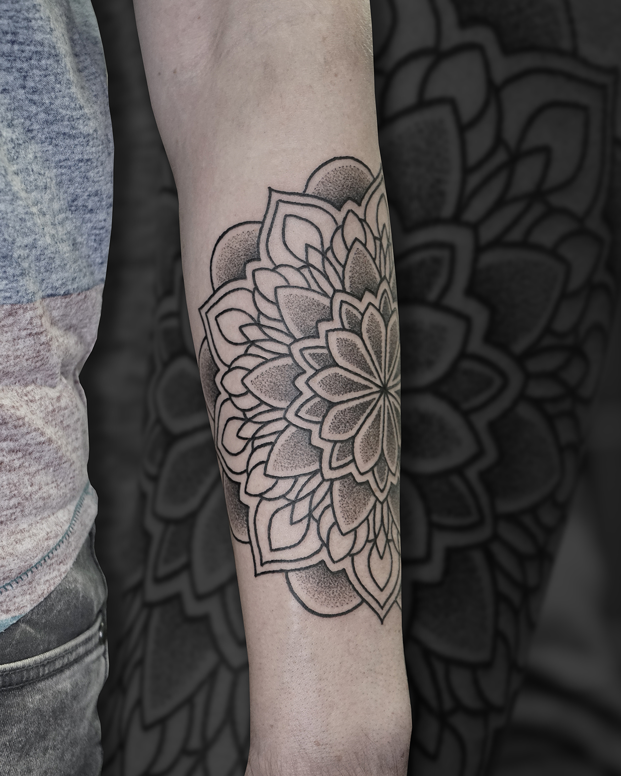 Tattoo Zincik - Mandala tattoo design