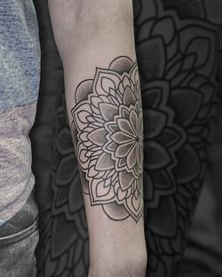 Tattoo Zincik - Mandala tattoo design