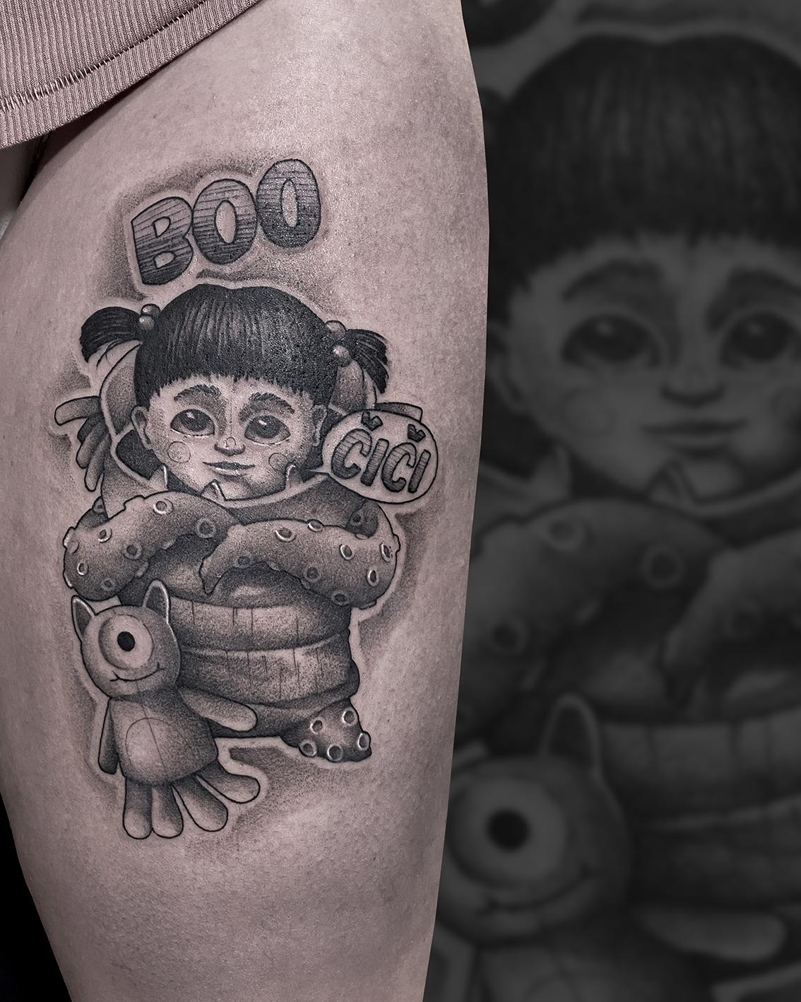 Tattoo Zincik - BOO