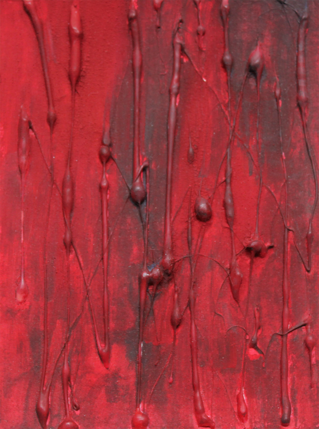 Blood Red Detail