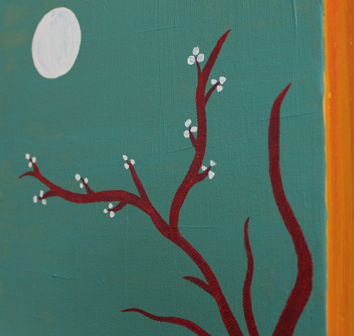 Blossom Moon Detail (showing border)