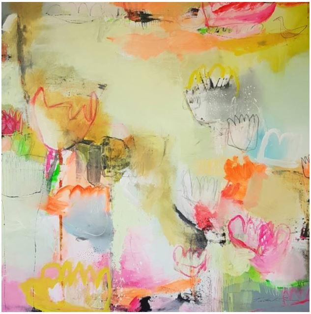 15: As sure as Spring by Natasha Barnes https://www.saatchiart.com/art/Painting-As-sure-as-Spring/967767/3442108/view