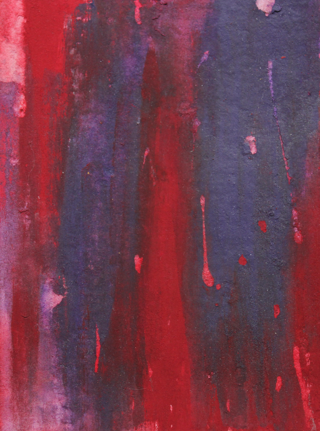 Blood Red (Detail)