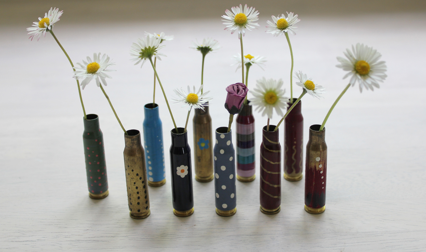 Bullet Vases